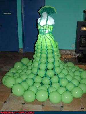 Fotos chistosas de vestidos