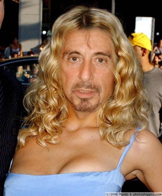 Fotos de famosos modificadas con photoshop