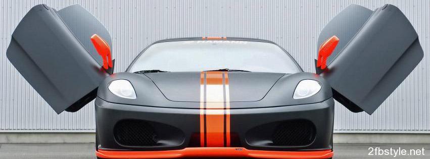 Portada para facebook del Ferrari 360