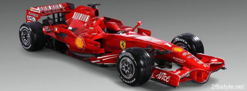 Portada para facebook del gran Ferrari F1
