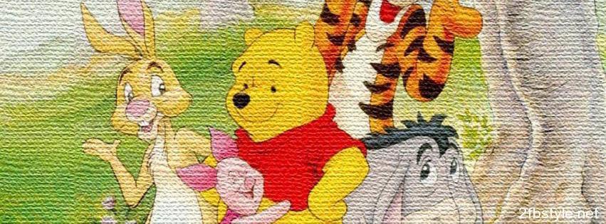 Portada de Winnie the Pooh and friends