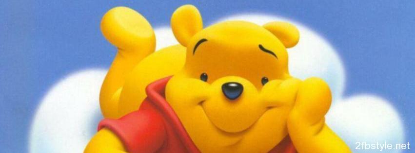 Portada facebook de Winnie the Pooh