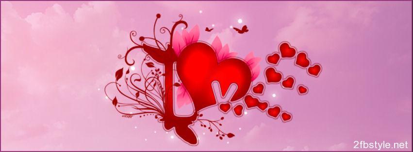 Portada love facebook