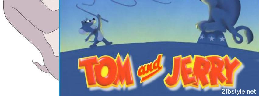Portada para facebook de Tom & Jerry