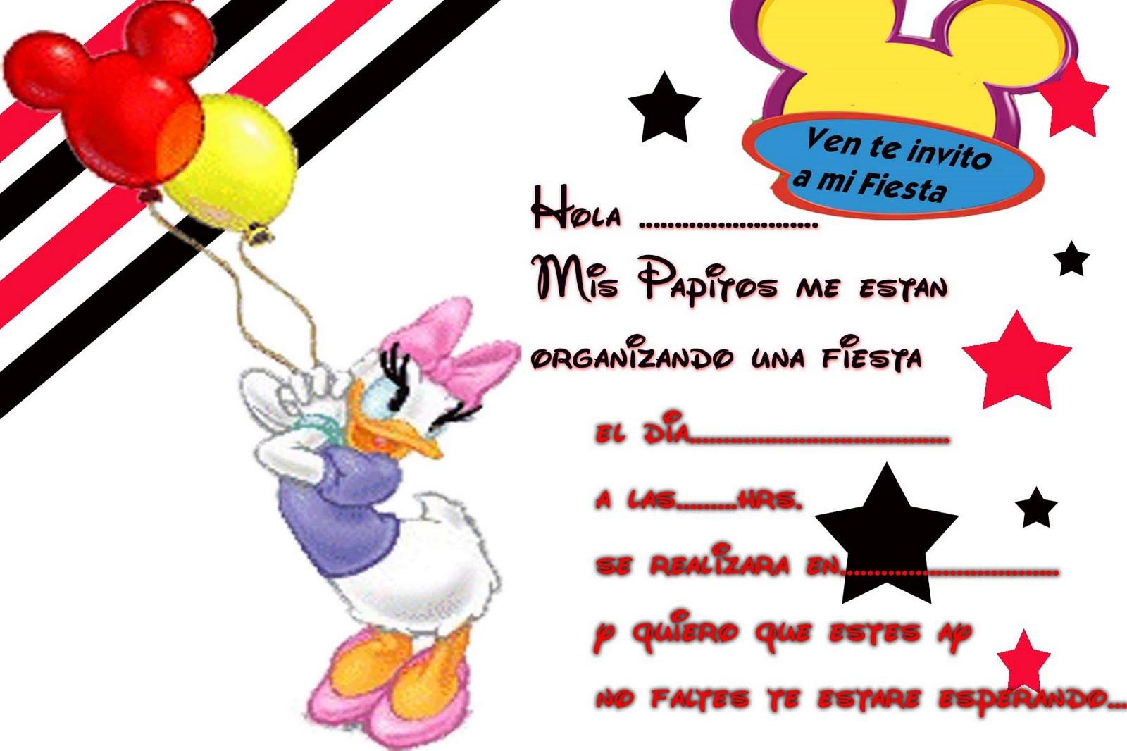 Imgenes de cumpleaos de Pato Donald  Descargar imgenes gratis