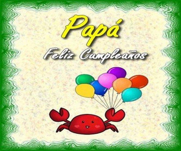 Imágenes de cumpleaños para papá3