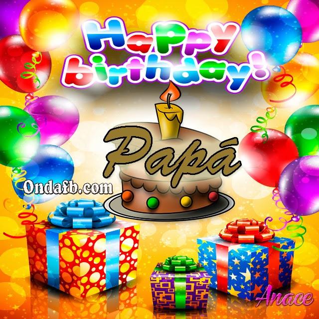 Tarjetas de cumpleaños para un padre