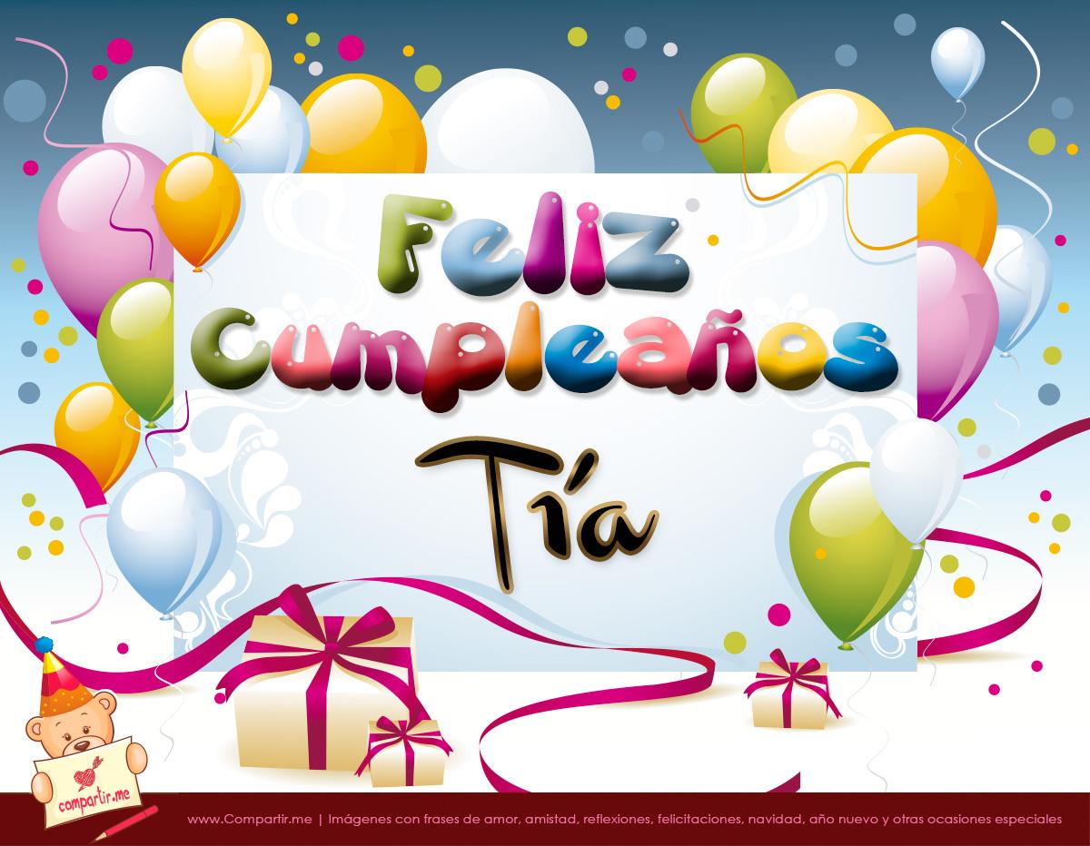 best Imagenes Para Felicitar Por Su Cumpleaños A Una Tia image ...