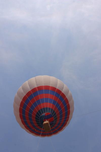 foto de globo aerostatico