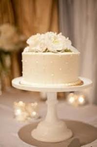foto de pastel de boda