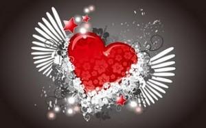 Corazón y estrellas