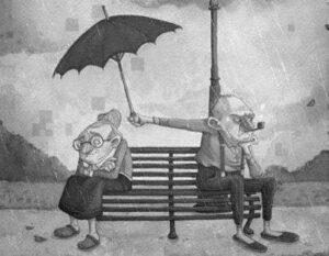 A pesar de los años y los enojos siempre estamos juntos