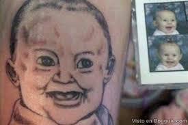 mal tatuaje de bebe