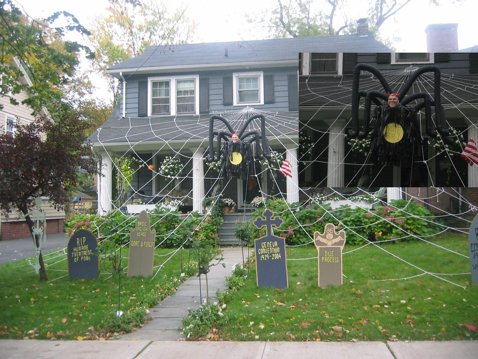 Casas decoradas para Halloween – Descargar imágenes gratis