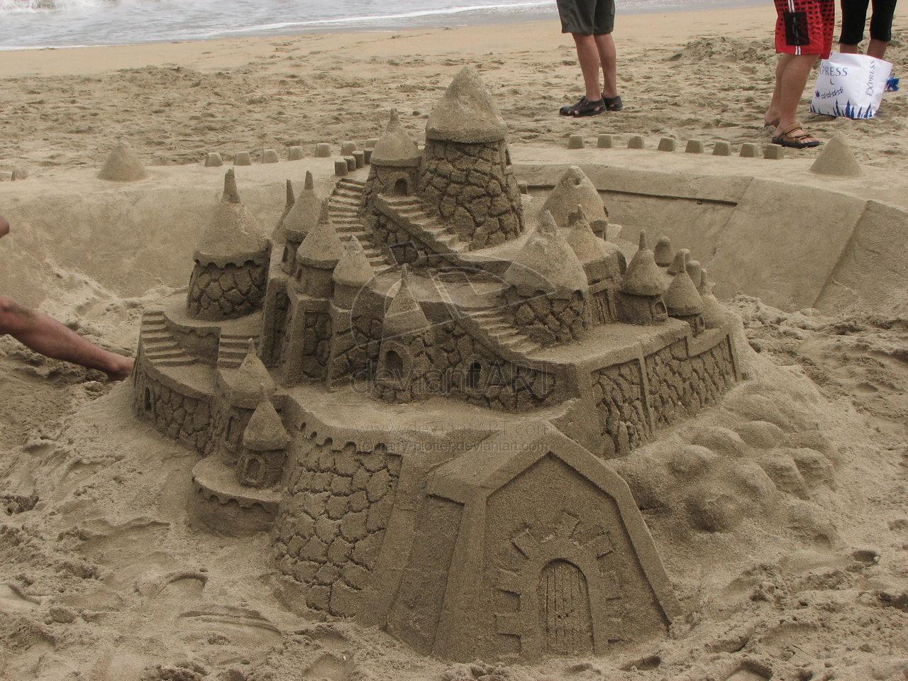 Fotos de castillos de arena 2