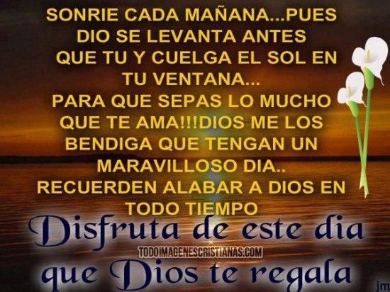 Imágenes Con Frases Cristianas De Buenos Días Descargar Imágenes