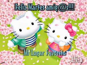 Martes Hello+Kitty
