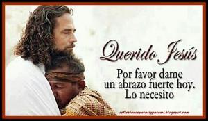 abrazo jesus