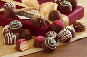 chocolates para la novia