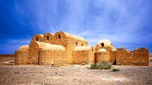 castillos del desierto,jordania