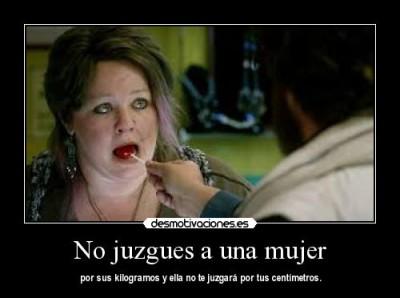 No juzgues a una mujer