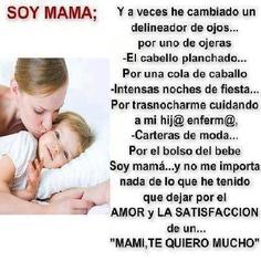 Soy mamá