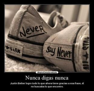 Nunca digas nunca