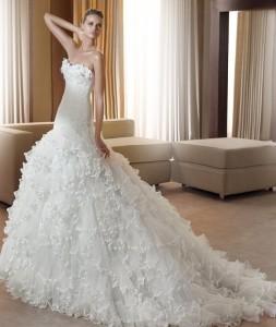 Fantastico vestido de boda