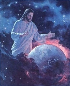 Jesus Bendiciendo la Tierra