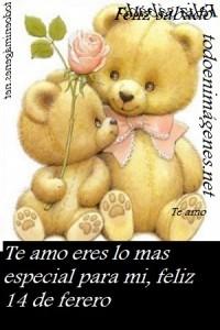 Te amo eres lo mas especial para mi,