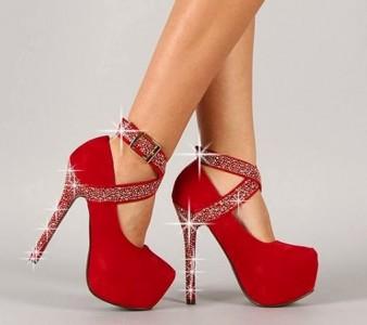 Lindos zapatos rojos
