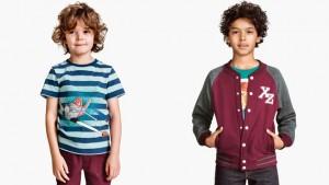 moda de primavera-verano para niños