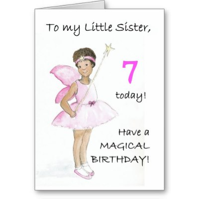 Tarjeta de cumpleaños para hermanas