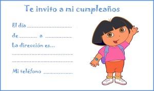 Imagenes de cumpleaños de Dora la Exploradora