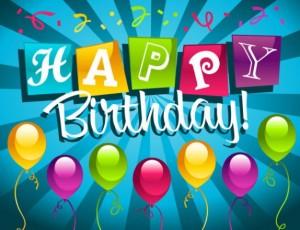 Muchas felicidades en tu cumpleaños maestro