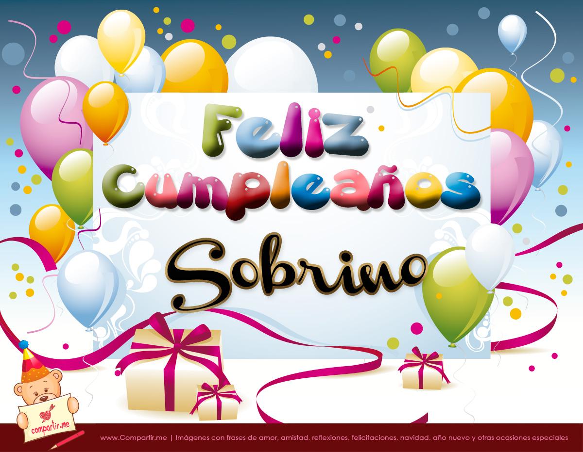 Tarjetas de cumpleaños para un sobrino u2013 Descargar imágenes gratis