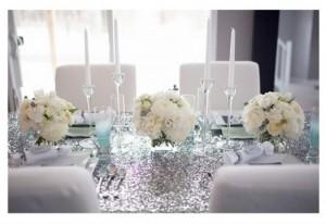 Elegantes arrreglos para boda