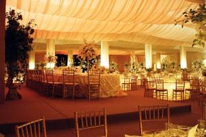 decoracion para salon de boda