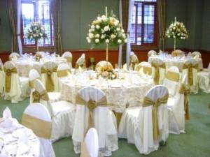 decoracion de boda en salon