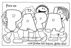 dibujo para el dia del padre 1