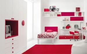 habitacion para mujer en espacio pequeño