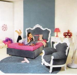 habitacion para mujer moderna
