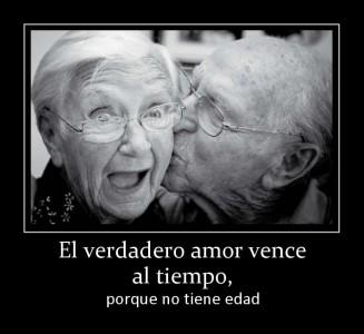 El verdadero amor vence al tiempo