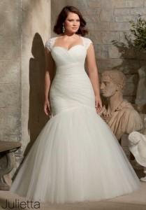 Imagenes de vestidos de novia tallas espaecial