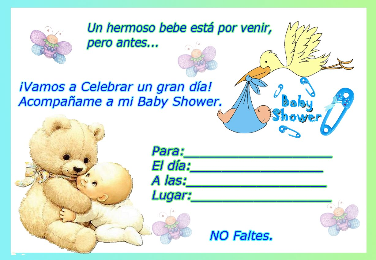 Tarjetas Invitacion Baby Shower Virtuales Baby Viewer