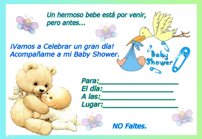 Tarjetas Invitacion Baby Shower Virtuales Baby Viewer