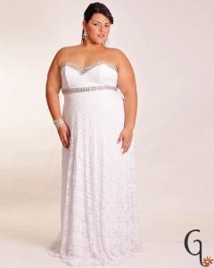 Vestidos  de novias tallas especiales