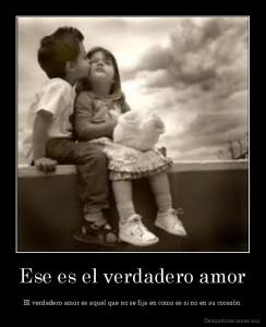 Ese es el verdadero amor