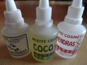 aceite de coco y almendras para las ojeras