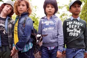 ropa para chicos en primavera-verano